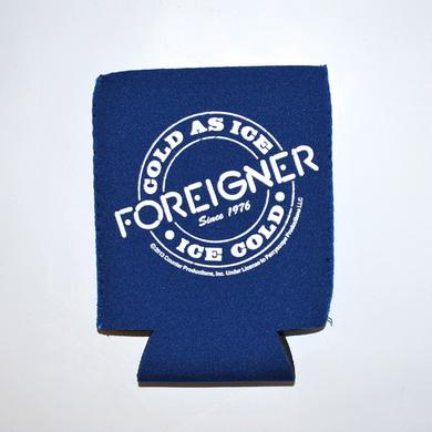 Foreigner Cold As Ice Koozie