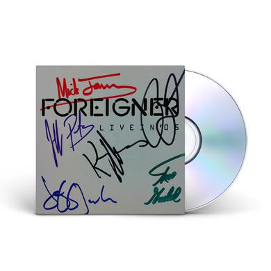 Foreigner Live In 05 (Autographed)