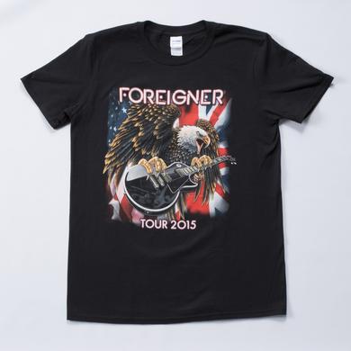 Foreigner Eagle 2015 Tour T-Shirt
