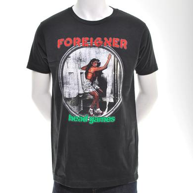 Foreigner Head Games Album T-Shirt