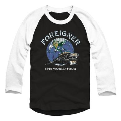 Foreigner Limited Edition 40th Anniversary 1978 Tour Raglan