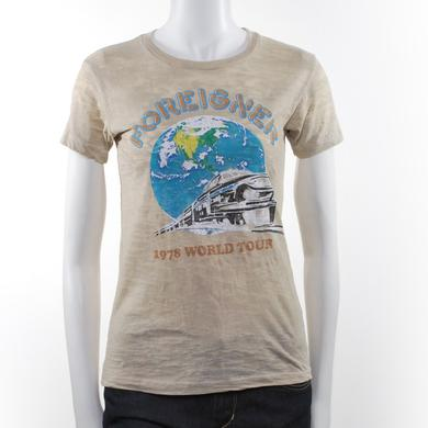 Foreigner Women's '78 World Tour T-Shirt