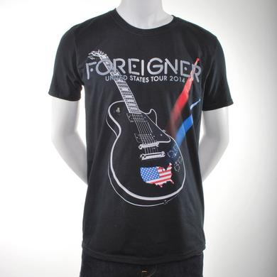 Foreigner S.O.S. Guitar T-Shirt