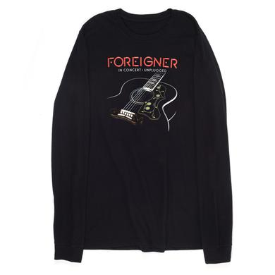 Foreigner Unplugged Acoustic 2016 Tour Long Sleeve T-Shirt