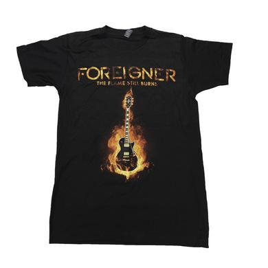 Foreigner The Flame Still Burns 2017 Tour T-shirt