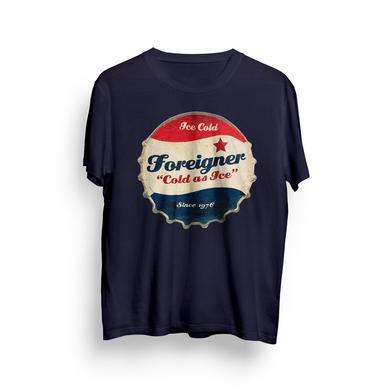 Foreigner Kids Navy Bottlecap T-Shirt
