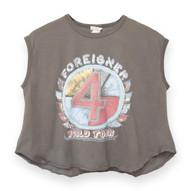 Foreigner 4 Flags World Tour Tank Top