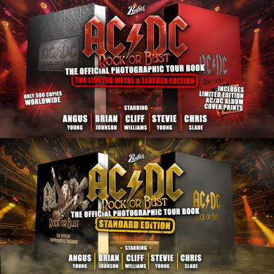AC/DC Rock Or Bust Deluxe Dual Edition Bundle