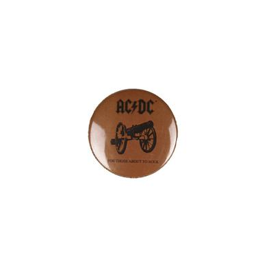 AC/DC For Those About To Rock Button