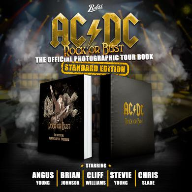 AC/DC Rock or Bust Standard Book
