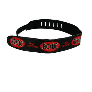 AC/DC Leather High Voltage Guitar Strap