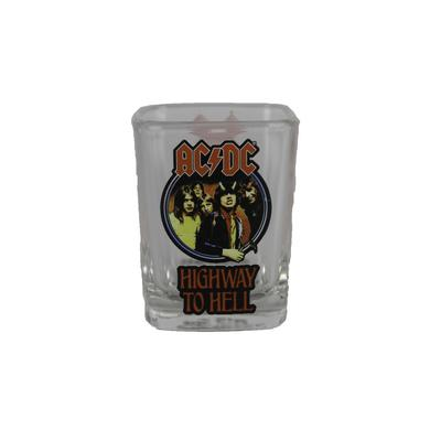 AC/DC Highway To Hell Squared Shot Glass