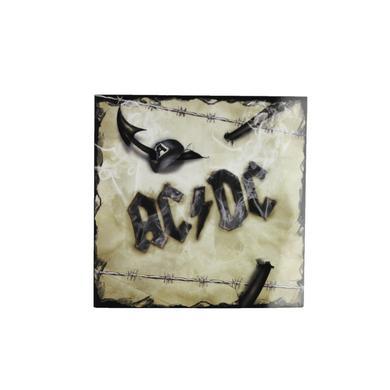 AC/DC Barbwire Logo Sticker