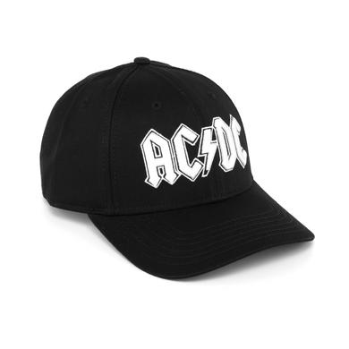 AC/DC White Logo Hat