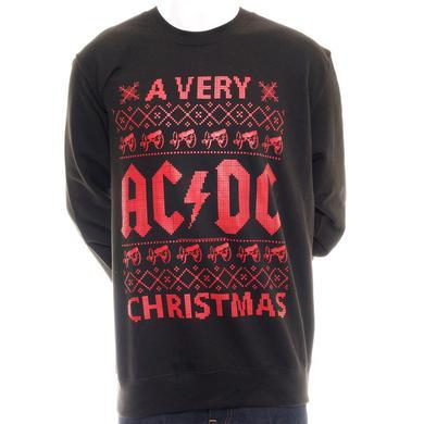 A Very AC/DC Christmas Sweatshirt