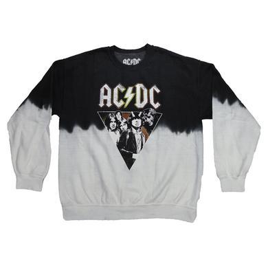 AC/DC Juniors Duo-Tone Highway Cannon Crew Neck Sweatshirt