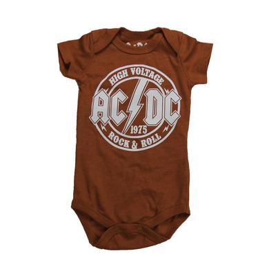 AC/DC High Voltage Dip Print Onesie