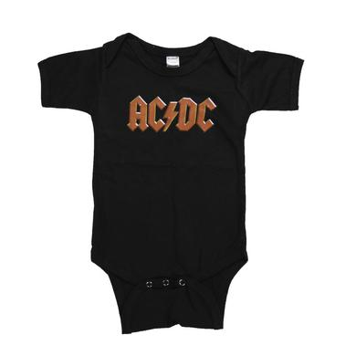 AC/DC Simply Red Logo Onesie