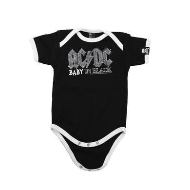 AC/DC Baby In Black Onesie