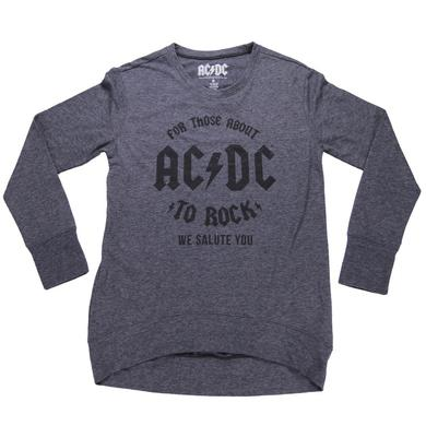 AC/DC Women's For Those About To Rock Fleece