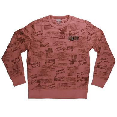 AC/DC Money Talks Red Crew Neck Sweatshirt
