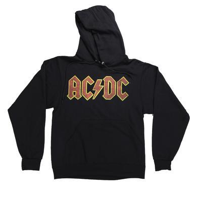 AC/DC Red Lightning Logo Hoodie