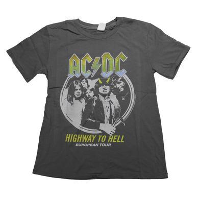 AC/DC Kids Highway To Hell European Tour Tee