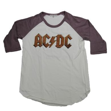 AC/DC Back In Black USA 1980 Tour Raglan