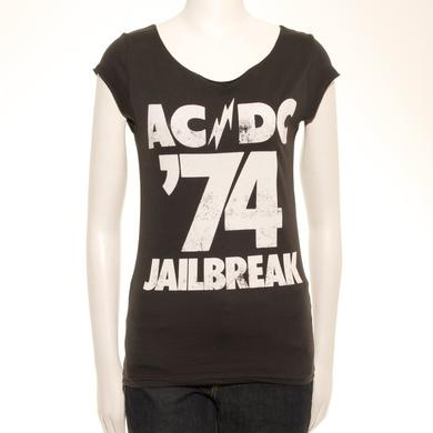 AC/DC Ladies '74 Jailbreak T-Shirt