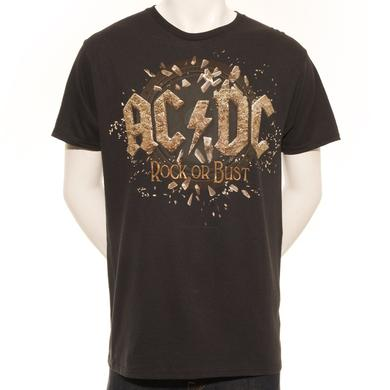 AC/DC Rock Or Bust Across North America T-Shirt