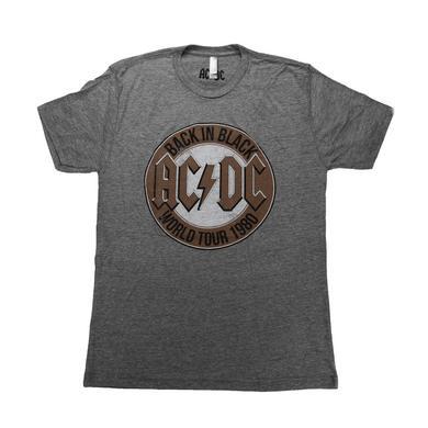 AC/DC Back In Black World Tour 1980 T-Shirt
