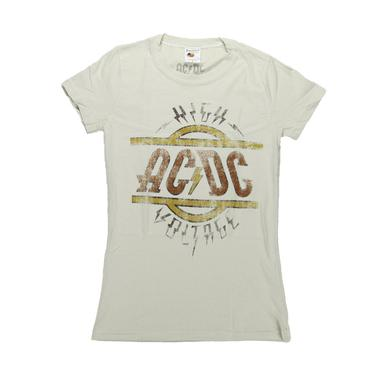 AC/DC Women's High Voltage T-Shirt