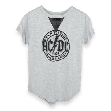 AC/DC High Voltage 1975 Rock and Roll V-Mesh T-Shirt
