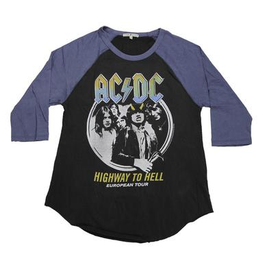 AC/DC Highway To Hell Women's 3/4 Sleeve Tee