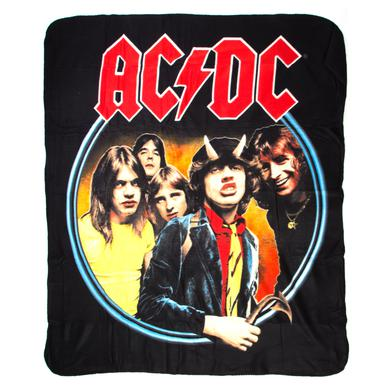 AC/DC Highway To Hell Throw Blanket