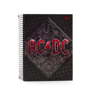 AC/DC Notebook Thick Tire Marks/Red Logo W/For Those About To Rock Cover SOME SPANISH