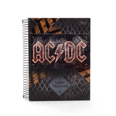 AC/DC Notebook Thick Notebook High Voltage Fire Logo SOME SPANISH