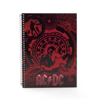 AC/DC Notebook Thin Circle Logo Reg Logo SOME SPANISH