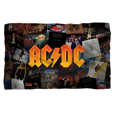 AC/DC - Albums -Fleece Blanket - White [36 X 58]