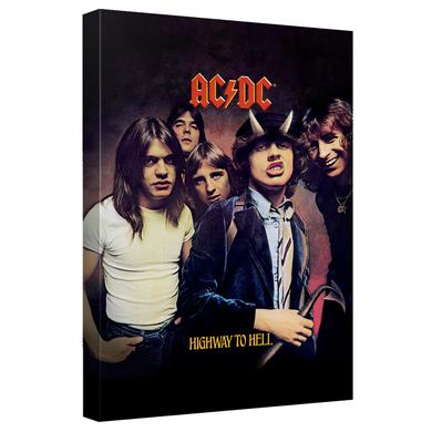 AC/DC - Highway - Canvas Wall Art With Back Board - White [20 X 30]