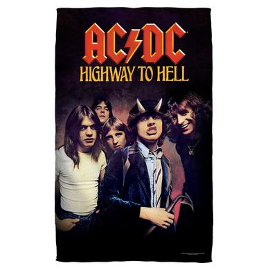 AC/DC - Highway-Beach Towel - White-Beach [36 X 58]