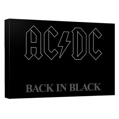 AC/DC - Back In Black Cover - Quickpro Artwrap Back Board - White [20 X 30]