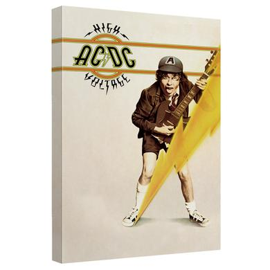 AC/DC - High Voltage Cover - Quickpro Artwrap Back Board - White [20 X 30]