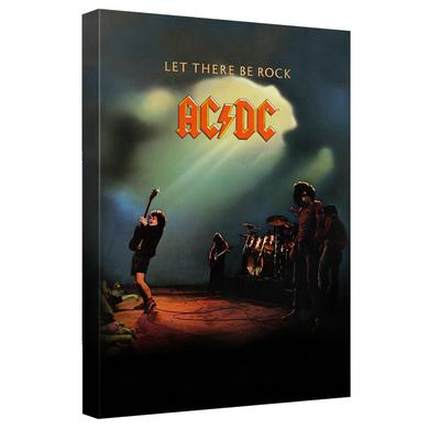 AC/DC - Let There Be Rock Cover - Quickpro Artwrap Back Board - White [20 X 30]