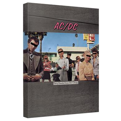 AC/DC - Dirty Deeds Cover - Quickpro Artwrap With Back Board - White [20 X 30]