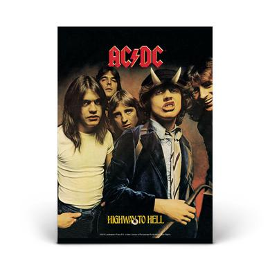 AC/DC Highway To Hell Glass Photo Print