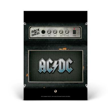 AC/DC Backtracks Glass Photo Print