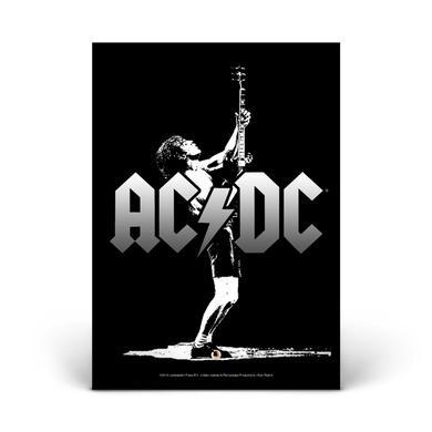 AC/DC Angus Icon Glass Photo Print