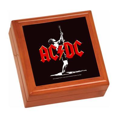AC/DC Angus Icon Wooden Keepsake Box