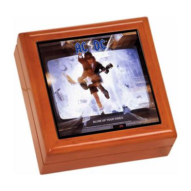 AC/DC Blow Up Your Video Wooden Keepsake Box
